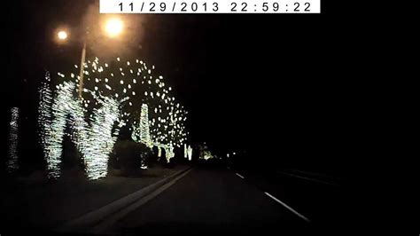 ahwatukee foothills christmas lights from my dash cam
