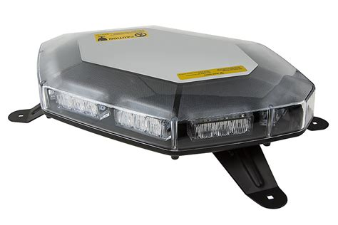 emergency led light bar 360 degree strobing led mini