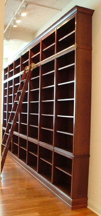 wall to ceiling bookcases inspiration built in library wall for my very wide space