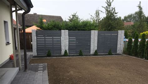 Sichtschutz Garten Granit by Sichtschutz