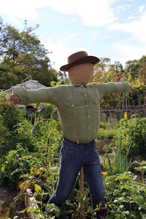 diy scarecrows farmers raggedy helpers