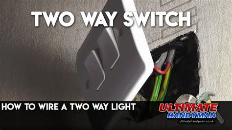 How Wire Two Way Light Youtube