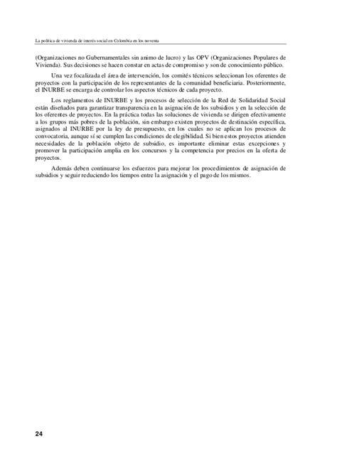 si鑒e social lcl política de vivienda de interés social en colombia