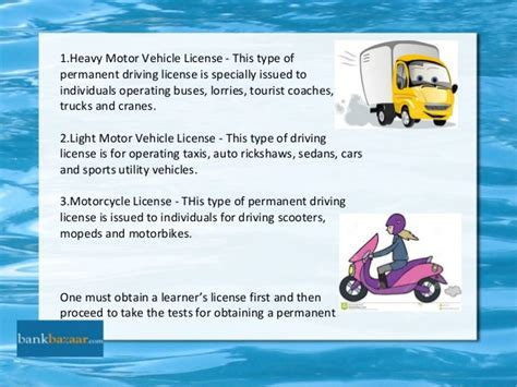 Ppt On Driving License