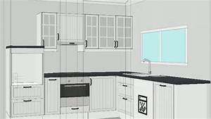 Meuble D Angle Haut Cuisine : meuble d angle cuisine ikea youtube ~ Teatrodelosmanantiales.com Idées de Décoration
