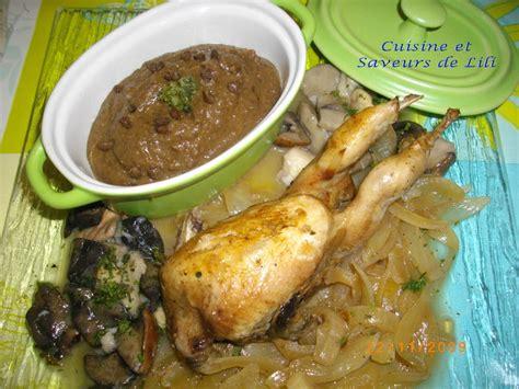 xeres cuisine cailles au xérès cuisine et saveurs de lili
