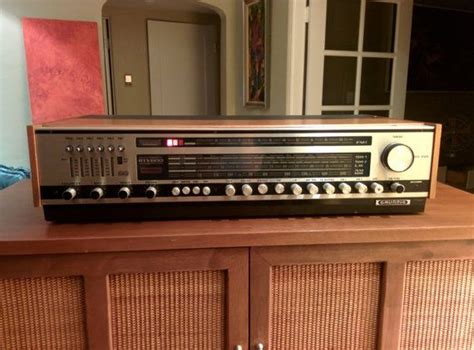 Vintage Grundig Rtv 600 Classic Solid State By