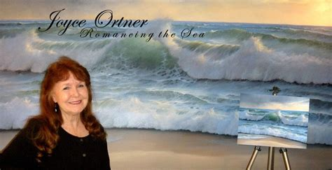 joyce ortner wonderful seascape artist artist art