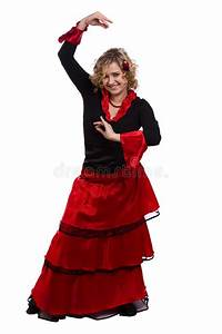 Halloween Spanish Costumes Woman. Royalty Free Stock ...