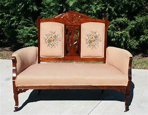 Peachy Victorian Settee and chairs Pinterest Settees