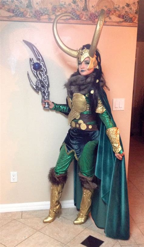 Lady Loki Cosplay Lady Loki Cosplay Female Avengers