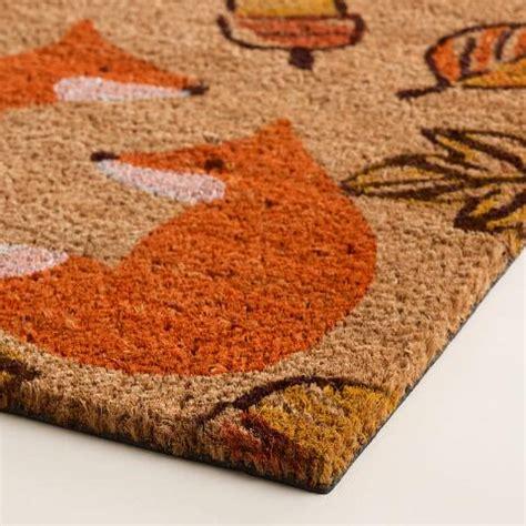 Fox Doormat by Fox Harvest Doormat World Market