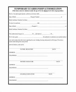 temporary medical guardianship form