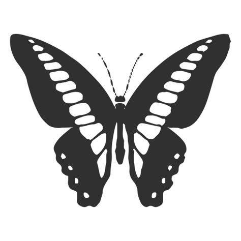 monarch butterfly vector graphics illustration silhouette