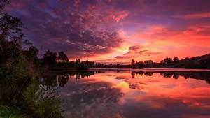 Landscape, Sunset, Nature, Wallpapers, Hd, Desktop, And