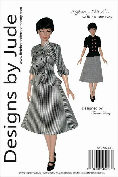 Agency Rtb101 Doll Classic Tonner Clothes Pattern