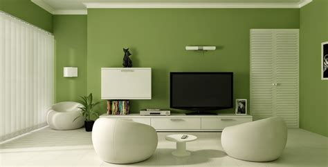 Green Wall Paint Color For Small Living Room With Tv Above