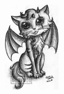 Demon Cat by Lilavatu on DeviantArt