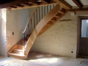 Escalier Demi Tournant Pas Cher by Escalier Quart Tournant Ch 234 Ne 224 Limon Courbe D 233 Billard 233