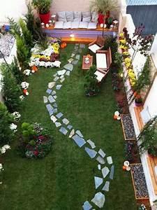 plantas para jardines pequenos variedades y decoracion With amazing comment amenager un jardin tout en longueur 2 comment amenager une terrasse plein sud