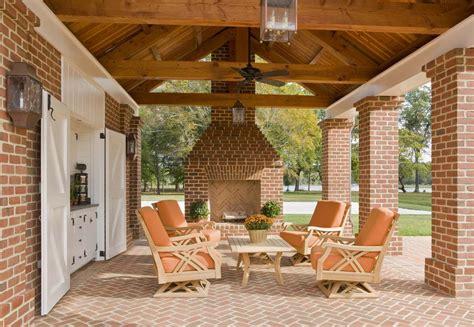Beautiful Covered Brick Patio; Neumann Lewis Buchanan