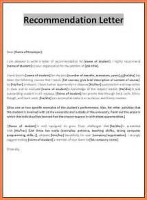 Student Scholarship Recommendation Letter Sample