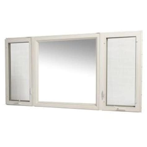 tafco windows      vinyl casement window  screen white vcc rl  home depot
