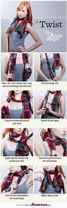 Comment Nouer Une Cravate : comment porter mettre nouer un foulard le foulard ~ Melissatoandfro.com Idées de Décoration