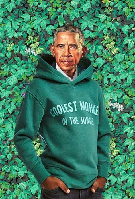Obama Portrait Memes - obama portrait meets h m ad the obamas official presidential portraits know your meme