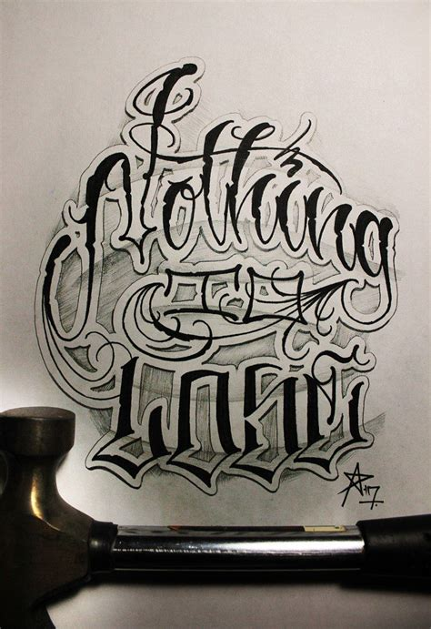 criminal lettering tattoo awesome lettering tattoo