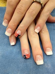 Simple fourth of july nail art designs ideas