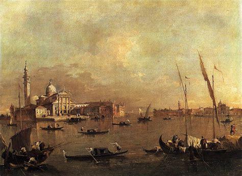 Baroque Artworks by Venice San Giorgio Maggiore C 1775 Francesco Guardi