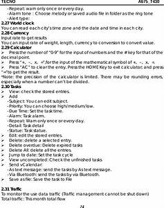 Tecno Mobile T430 Mobile Phone User Manual