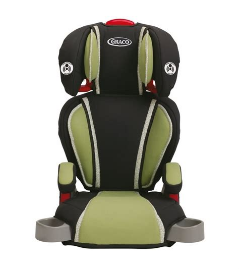 siege auto graco 123 graco highback turbobooster car seat go green