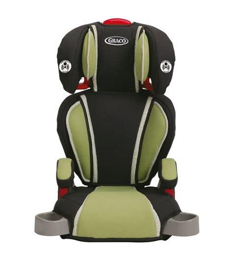 siege auto graco 123 graco highback turbobooster car seat go green