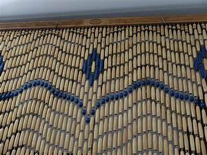 Rideau De Porte Fantaisie : les rideaux en perles de buis de montfavet provence mag ~ Premium-room.com Idées de Décoration