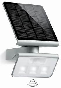 Solarleuchte Mit Bewegungsmelder : steinel 671013 led solarleuchte strahler mit bewegungsmelder xsolar l s bei reichelt elektronik ~ Buech-reservation.com Haus und Dekorationen