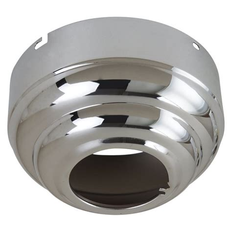 sea gull lighting 1630 05 chrome sloped ceiling adapter in