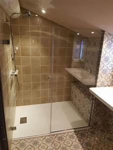 Parois De Douche Sur Mesure : parois de douche en verre sur mesure autour d 39 avignon 84 ~ Dailycaller-alerts.com Idées de Décoration