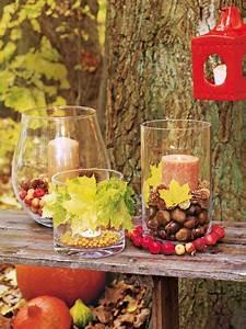 Deko Ideen Herbst : 156 besten deko herbst bilder auf pinterest deko herbst ~ Lizthompson.info Haus und Dekorationen