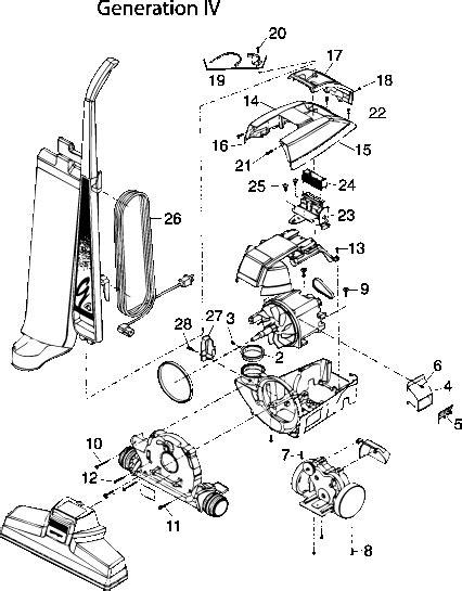 Kirby Generation Vacuum Repair Parts Tools