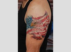 American Flag Tattoos Designs, Ideas and Meaning Tattoos