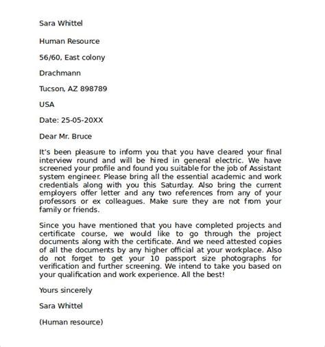 letter  intent   job template