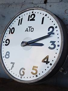 Grande Horloge Industrielle : horloge de gare ato ~ Teatrodelosmanantiales.com Idées de Décoration