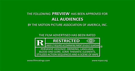 trailer ratings psd template green band trailer r by yugi4542 on deviantart