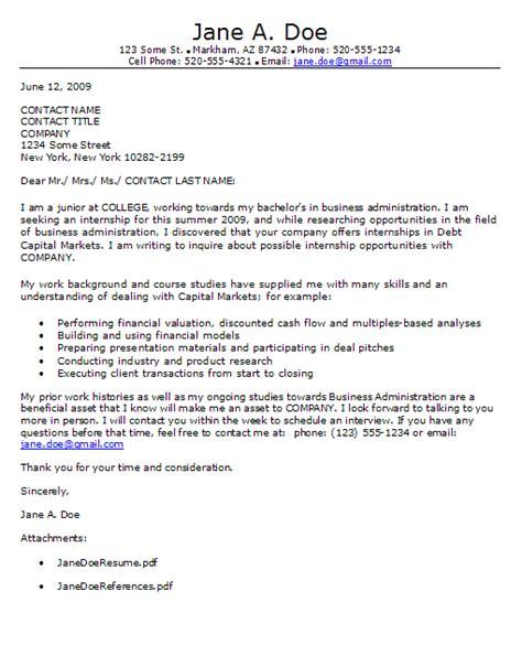 Best Finance Internship Resume by Best Cover Letter For Finance Internship Finance Cover Letters Sle Accounting Internship