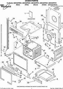 Whirlpool Gmc305prb01 Users Manual