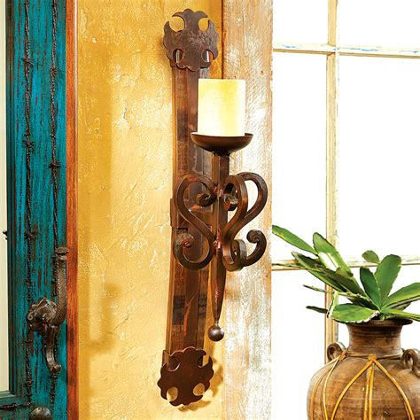 rustic wall candle holders rustic candle holders tequila barrel scroll wall candle
