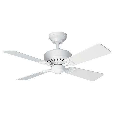 Hunter Ceiling Fan Bayport 107cm 42 White Ceiling Fans