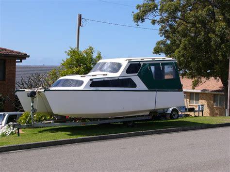 Catamaran Trailer Design by Munson Catamaran Hull Trailer Able Houseboat Boat Design Net